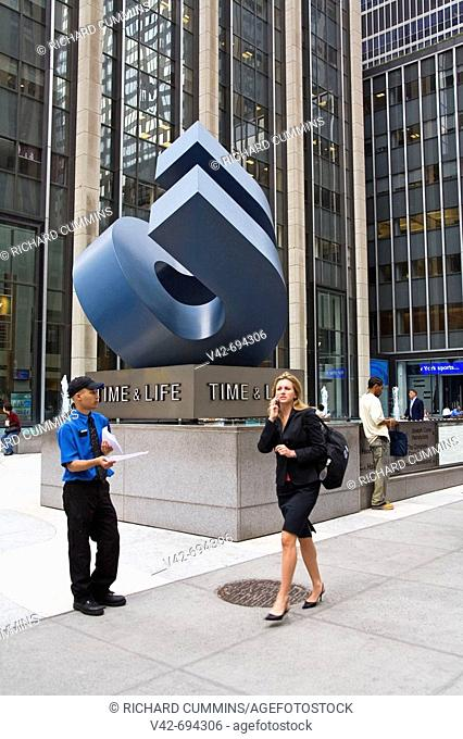 Time & Life Building, 6th Avenue, Midtown Manhattan, New York City, New York, USA