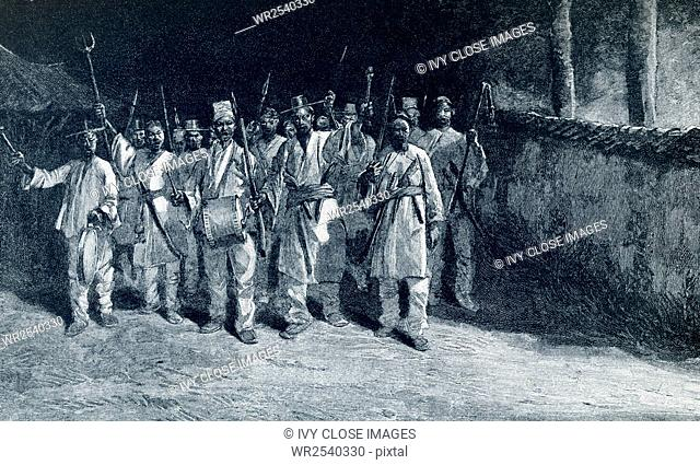 The Taipeng Rebellion, also called the Taipeng Civil War, was a civil war in China. It started in 1850 and ended in 1864