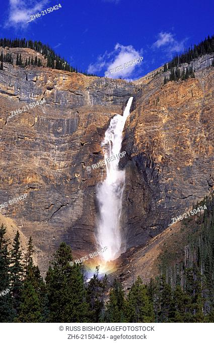 Takakkaw Falls (tallest in Canada), Yoho National Park, British Columbia, Canada