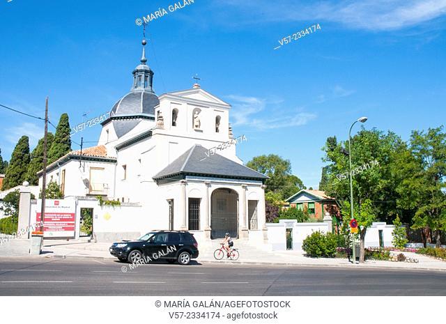 San Isidro church. Madrid, Spain