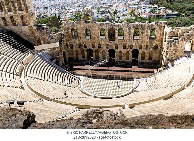 The Theatre of Dionysus, Athens, Greece