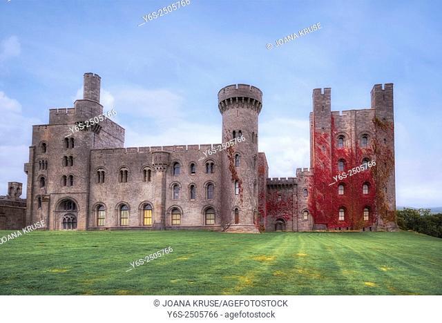 Penrhyn Castle, Llandegai, Wales, United Kingdom