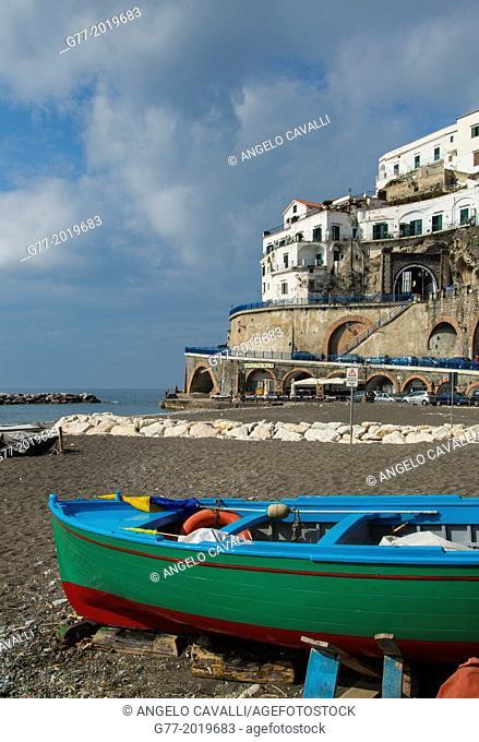 Atrani, Amalfi Peninsula, Campania, Italy