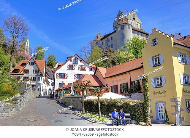 Meersburg, Castle, Lake Constance, Baden-Wurttemberg, Germany