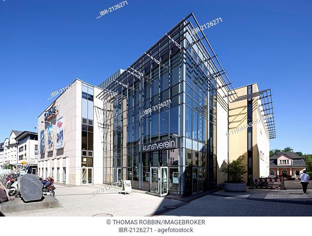 Marburger Kunstverein art society, Cineplex cinema, Marburg, Hesse, Germany, Europe, PublicGround