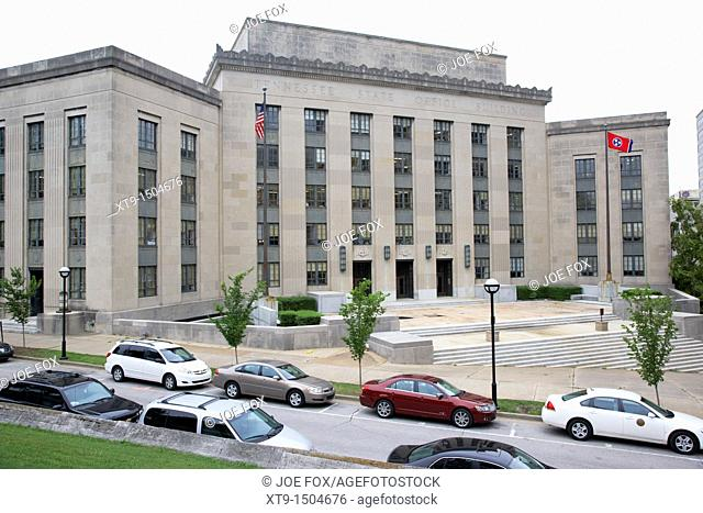 John Sevier state office building Nashville Tennessee USA