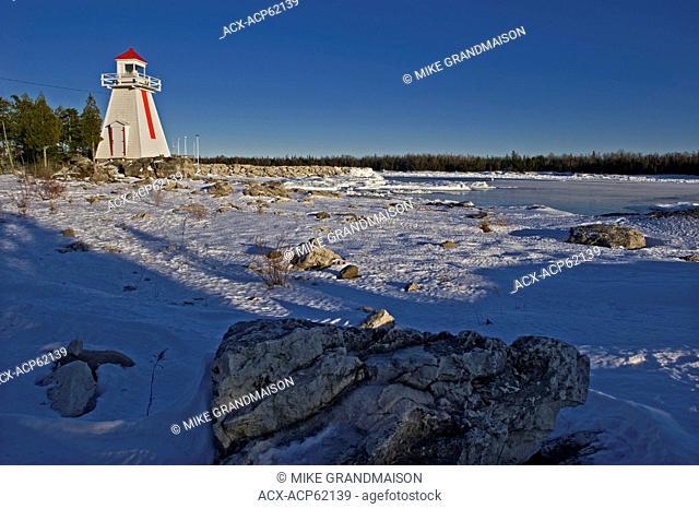 Lighthouse on Georgian Bay, South Baymouth, Manitoulin Island, Ontario, Canada