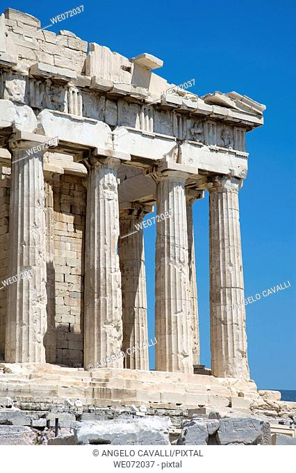 Greece. The Acropolis. Parthenon