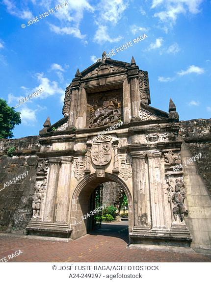 Fort Santiago. Intramuros. Manila. Philippines