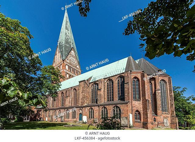 Church St. Johannis in Lueneburg, Niedersachsen, Germany