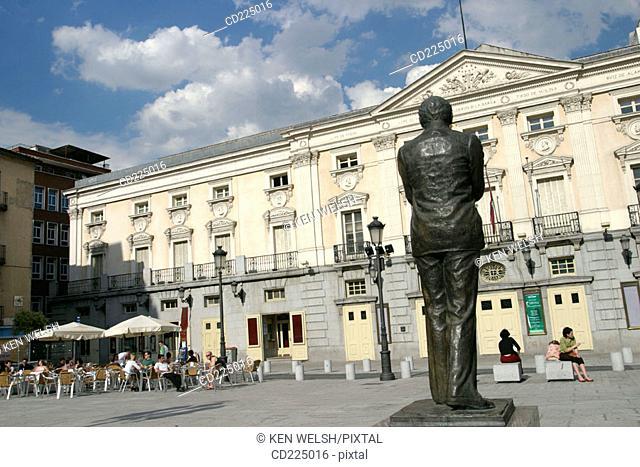 Teatro Español in Plaza de Santa Ana. Madrid. Spain