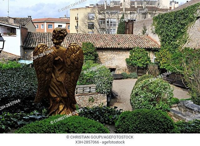Jardi de l'Angel (Angel's garden), Girona, Catalonia, Spain, Europe