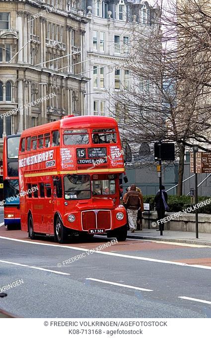 Bus. London. England