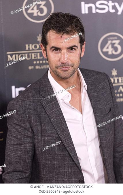 Alex Adrober attends el jardin de Miguel Angel and In Style beauty night in Madrid, May, 24, 2017 (Photo by Angel Manzano).