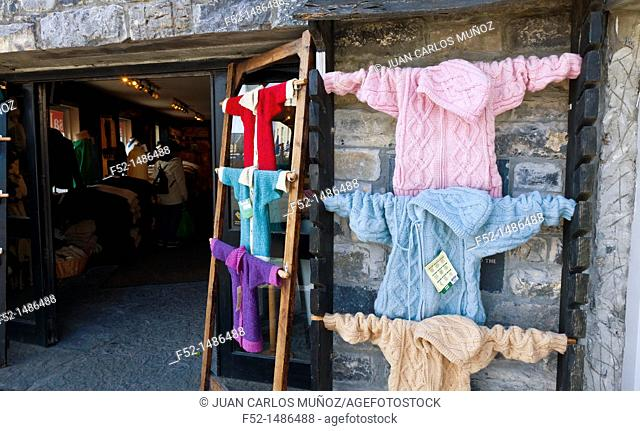 Handicraft sweater  Kilronan Village  Inishmore Island, Aran Islands, Galway County, West Ireland, Europe