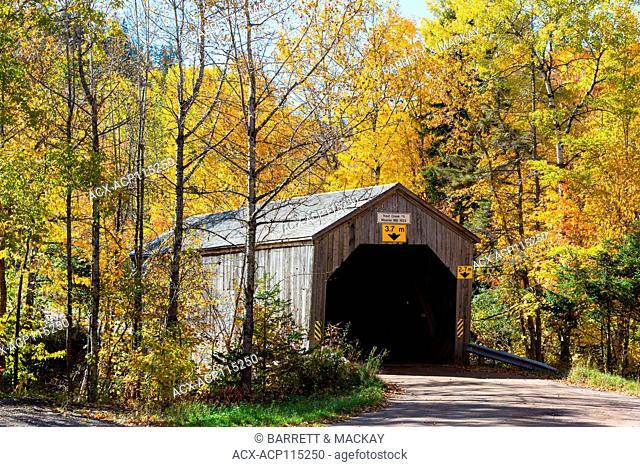 Trout Creek #5 Covered Bridge, Moores Mill, New Brunswick, Canada