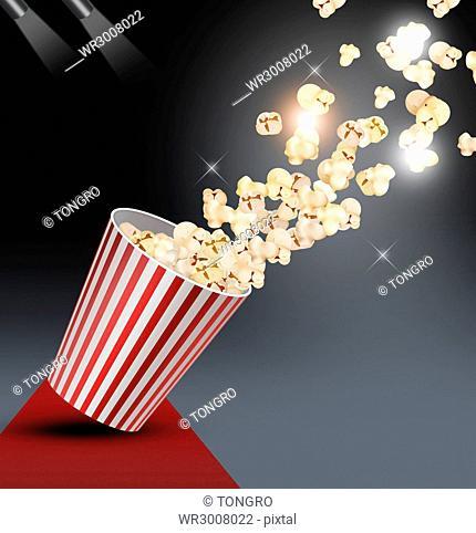 Popping popcorns