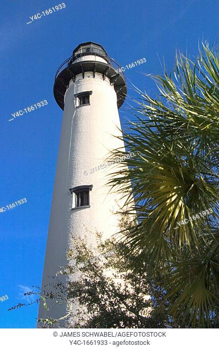 St  Simons Island Lighthouse 1872, Georgia