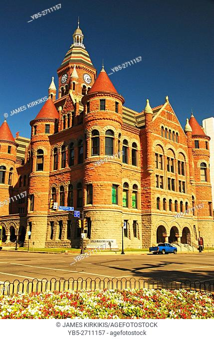 Old red Courthouse, now the Dallas Historical Museum