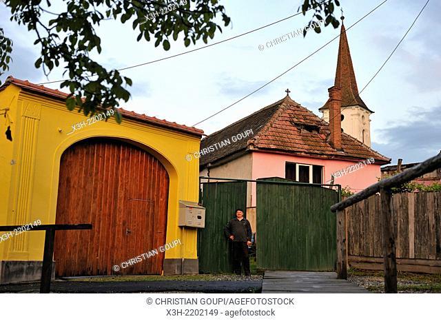 Luca Ioan & Elena guest-house, village of Sibiel, department of Sibiu, Transylvania, Romania, Southeastern and Central Europe