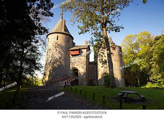 Castell Coch, Castle, Tongwynlais, Wales, UK