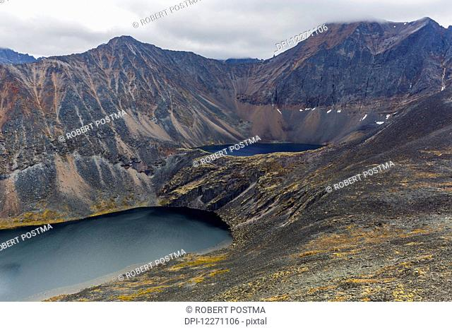The Syenite Lakes deep within Tombstone Territorial Park; Yukon, Canada