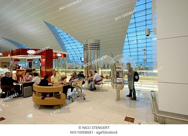 Dubai International Airport, New Terminal 3, exclusively for Emirates Airlines, Dubai, United Arab Emirates, Middle East