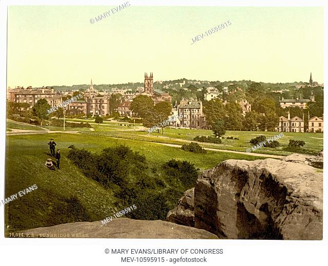 From Mount Ephraim, Tunbridge Wells, England. Date between ca. 1890 and ca. 1900