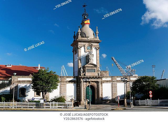 The Dock's Gate, Ferrol, La Coruña province, Region of Galicia, Spain, Europe