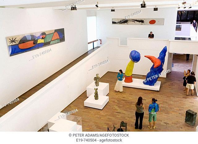 Miro Sculptures. Miro Foundation, Barcelona, Spain