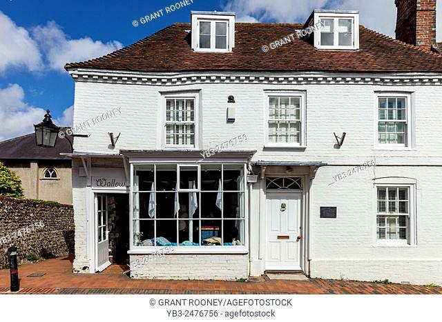 Wallow Homeware Shop, Alfriston, Sussex, UK