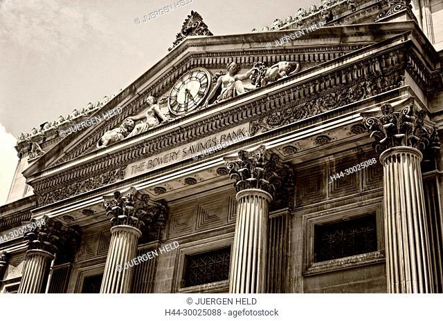 Bowery Savings Bank, Lower Est Side, New York