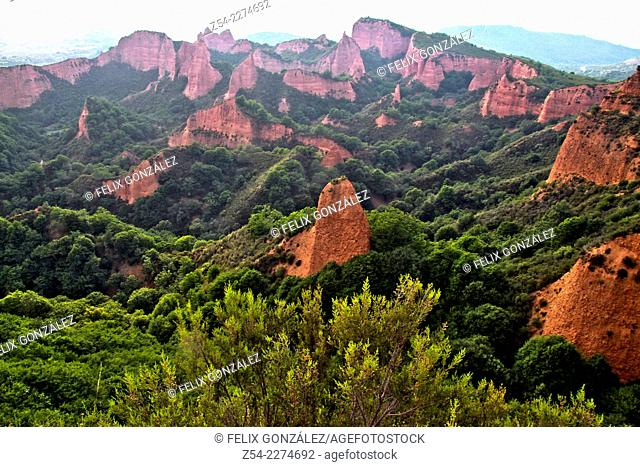 Las Medulas Cultural Park Unesco World Heritage, El Bierzo, Castile and Leon, Spain, Europe