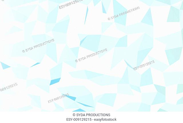 wallpaper, illustration and backdrop concept - blurred abstract blue and green geometric pattern low poly background