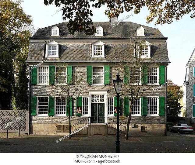 Museum für Frühindustrialisierung und Engels-Haus Geburtshaus von Friedrich Engels