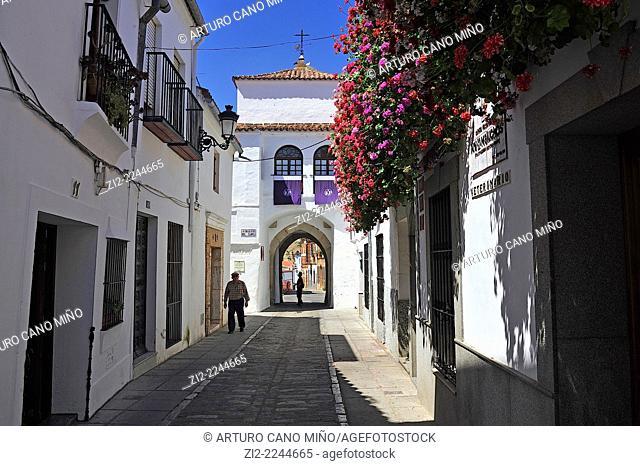 Callejita del Clavel. Zafra, Badajoz, Spain