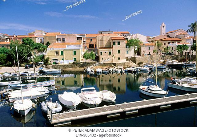 Stintino in Sardinia Island. Italy