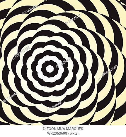 Op art, also known as optical art, is a style of v