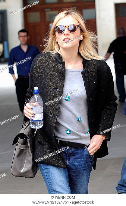 Fearne Cotton pictured at Radio 1 Featuring: Fearne Cotton Where: London, United Kingdom When: 18 Aug 2014 Credit: WENN.com