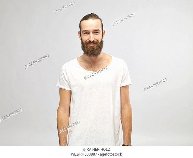 Portrait of man with full beard