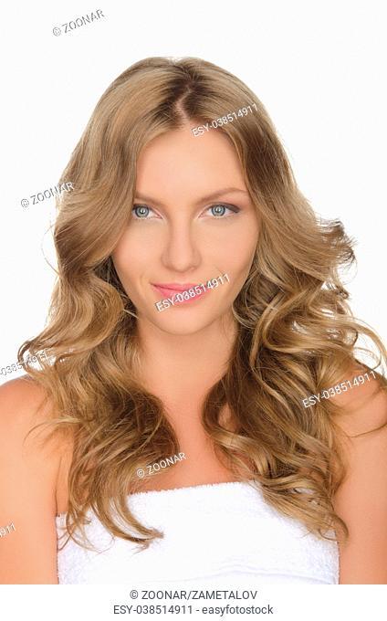 Beautiful young European woman