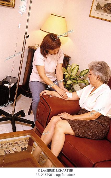 HOME MEDICAL CARE FOR ELDERLY P.<BR>Models