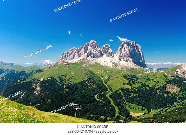 Sassolungo - Langkofel, Italian Dolomites