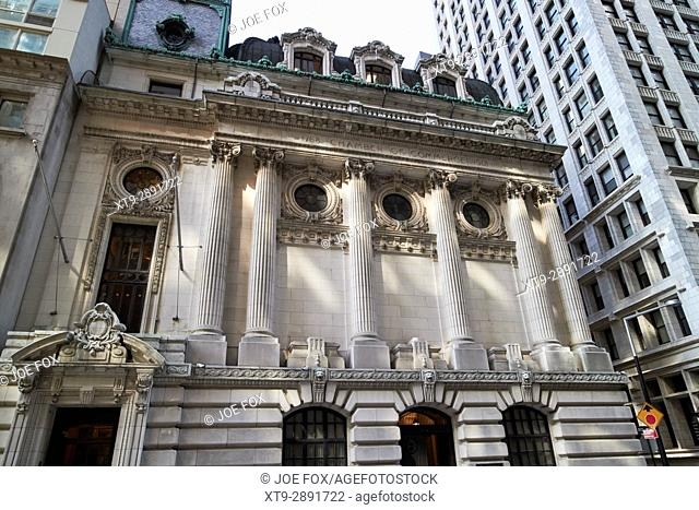 chamber of commerce of the state of New York building USA