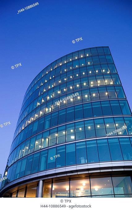 England, London, Southwark, Office Buildings in the More London Riverside Development