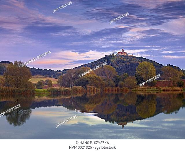 Wachsenburg Castle near Muehlberg, Gleichen, Thuringia, Germany