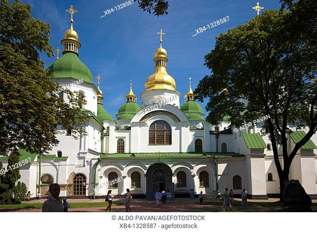 Ukraine, Kiev, Saint Sophia Cathedral