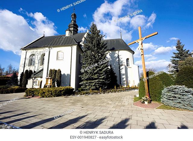 Church sw. Piotra i Pawla in Kije