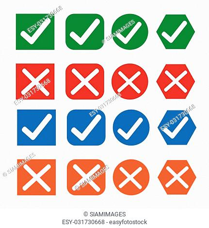 Checkbox symbol element Stock Photos and Images | age fotostock