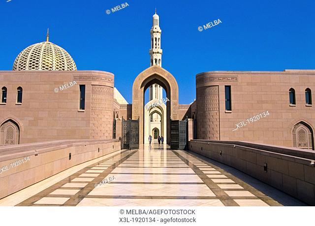 Sultan Qaboos Grand Mosque, Muscat, Masqat, Oman